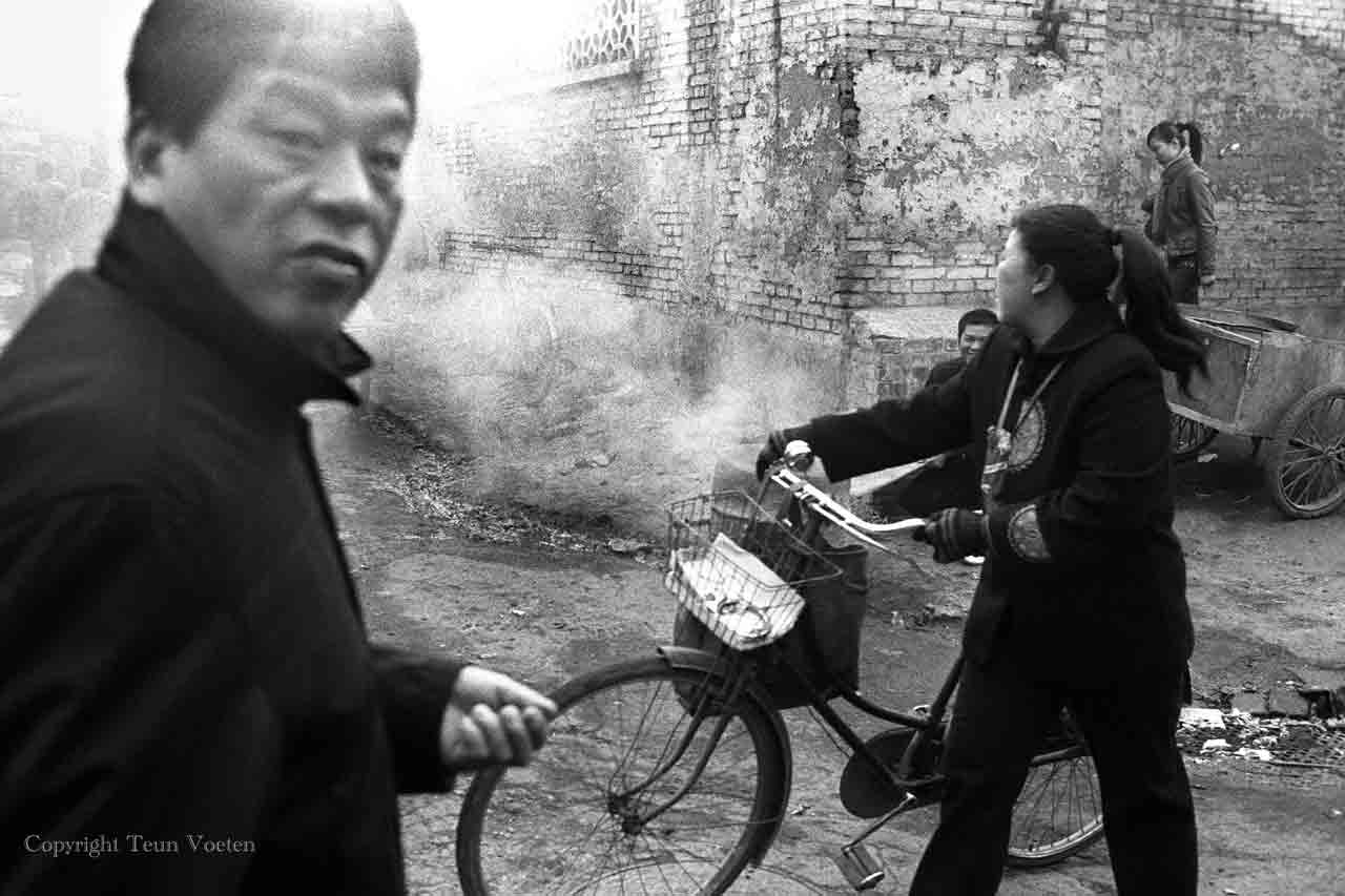 china pollution photo