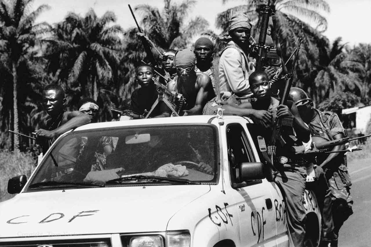 sierra leone war conflict photo
